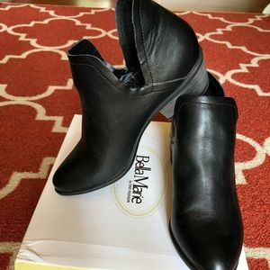 Brand new out of box black booties!